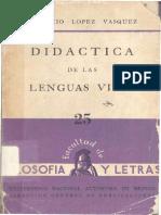 Didactica de las lenguas vivas