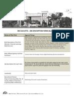 Apparel Group Job Description IIMC Summers 2019