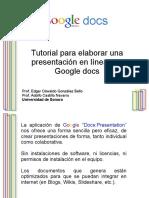 Google Docs Presentacion