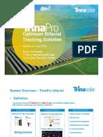 TrinaPro-Optimum Bifacial Tracking Solution