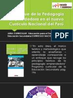 El Enfoque de La Pedagogía Emprendedora en El - Copia