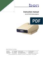 Proyector bon cp33