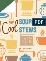 Cool Soups & Stews. Easy & Fun Comfort Food (2014)
