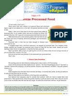 00133 HealingHabit19 Minimize Processed Food