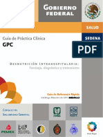 Desnutrición hospitalaria gpc