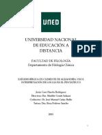 Tesis doctoral Clemente de Alejandría