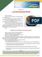 00077 HealingHabit12 Eat Fermented Food