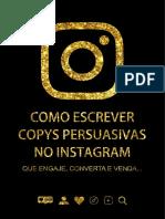 E-book Instagram Copys