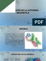 Regulación de La Actividad Enzimática 1