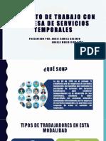 Contrato de Trabajo Con Empresa de Servicios Temporales