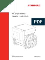 Stamford P80 Manual SP