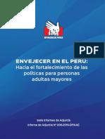 Defensoría Del Pueblo Informe Envejecer en El Perú 2019