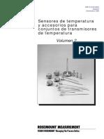 Sensores y Termopozos