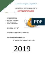 Informe Super Empanada