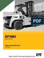 Cat DP70 N1 Forklift Brochure.pdf