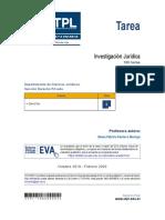 tarea de investigacion juridica