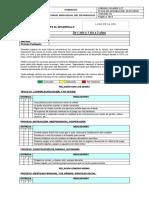 Formato Entrega Informe de Logros 1 a 2 Años