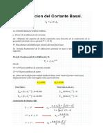 Correccion Del Cortante Basal (Covenin 1756-2001)