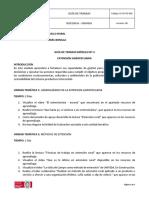 Guía de Trabajo Módulo 4 Extensión y Desarrollo Rural