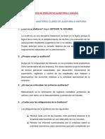 Valotario de Preguntas Auditoria i Unidad