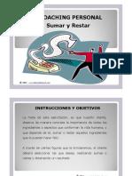 DINÁMICA Coaching Sumar y Restar