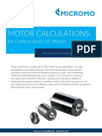 MICROMO DC Motor Calculations White Paper Refresh 2018