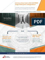 Give administrators time back with Dell EMC OpenManage Enterprise integrations - Infographic