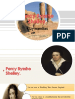 Percy Shelley ppt