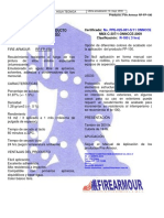 Hoja Técnica RF-FP-180 Marzo 2019