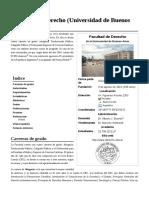 Facultad de Derecho (Universidad de Buenos Aires)