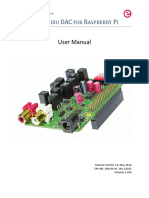 Manual High End Audio DAC for Raspberry Pi 2