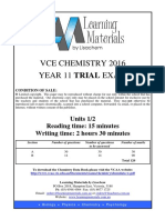 [VCE Chemistry] 2016 Lisachem Unit 2 Exam and Solutions