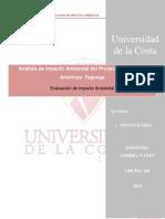 Análisis de Impacto Ambiental Del Proyecto Puerto Las Américas- Taganga