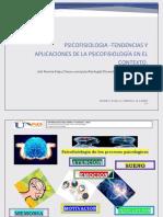 Tendencias y Aplicaciones de La Psicofisiología en El Contexto.