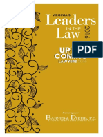 Virginia's Leaders in the Law 2016