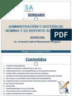 Presentación Nomina y Su Reporte Al SIE-InSS 11-2015