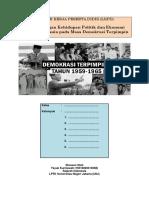 Lkpd Sejarah Indonesia (Demokrasi Terpimpin)