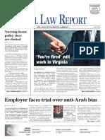 2016 July Virginia Medical Law Report
