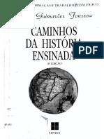 Livro Caminhos Da História Ensinada - Selva Guimarães Fonseca