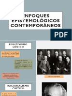 ENFOQUES EPISTEMOLÓGICOS