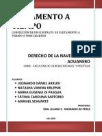 Contrato de Fletamento a Tiempo Bio Marinof
