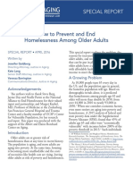 Homelessness Older Adults