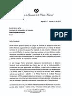 Carta al Presidente Sobre situacion Inpec