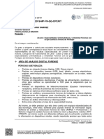 Especialidades de La Oficina de Peritajes MPFN