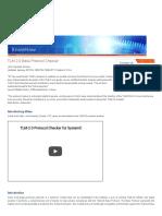 TLM-2.0 Base Protocol Checker