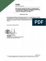 Circular N° 5 y Of.1393 Carta del MEF a Proinversión