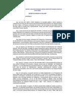 DU 042_2009 que incorpora recursos para atender la ejecución del proyecto Metro de Lima