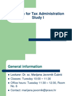 Introduction to English for Tax Administration I[1]