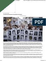 Las Marcas Del Macrismo en Las Políticas de Memoria _ Página12