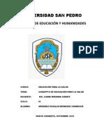 UNIVERSIDAD SAN PEDRO EDUCACION PARA LA SALUD.docx